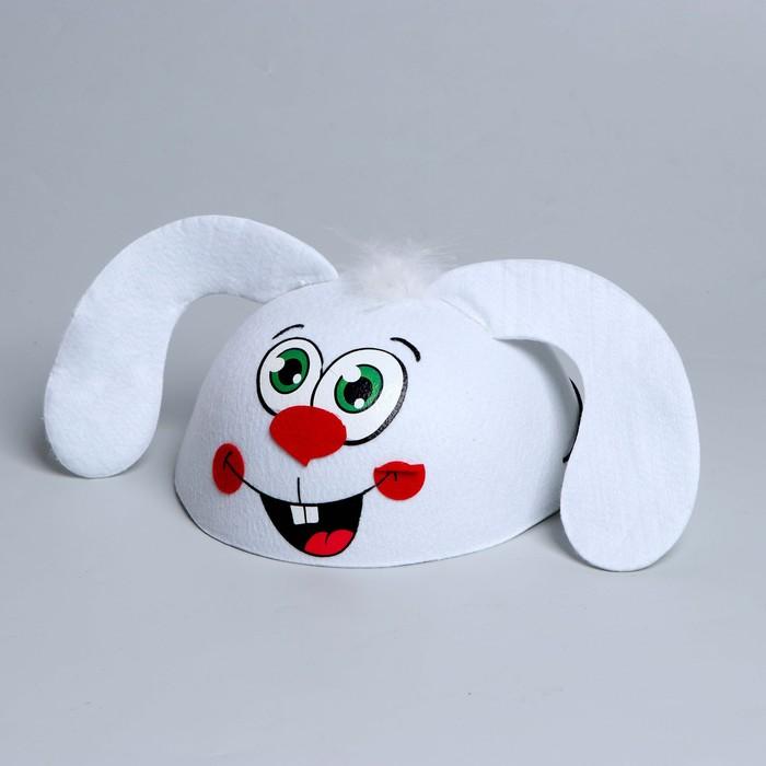 Карнавальная шляпа «Зайчик», детская, р-р. 52-54
