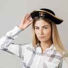 """Шляпа пирата детская """"Полундра"""", р-р 56"""