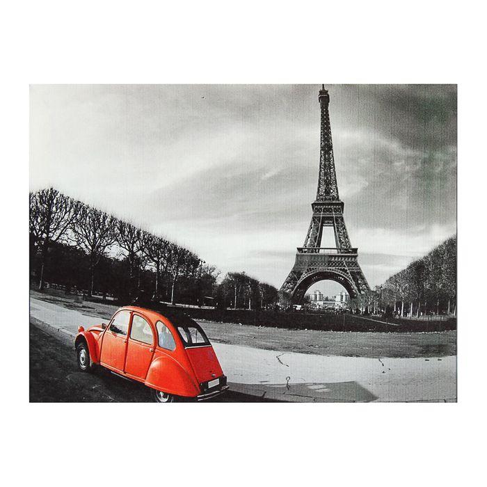 """Картина на подрамнике """"Париж"""""""