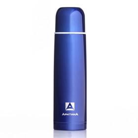 "Термос ""Арктика"", 750 мл,  вакуумный, синий, микс"