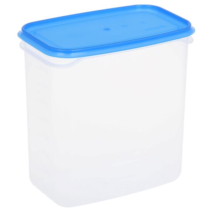 Контейнер пищевой 1,5 л Venecia, цвет голубой