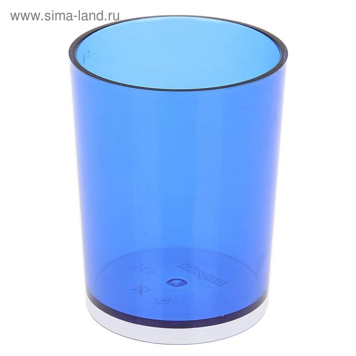 """Стакан """"Joli"""", цвет синий полупрозрачный"""