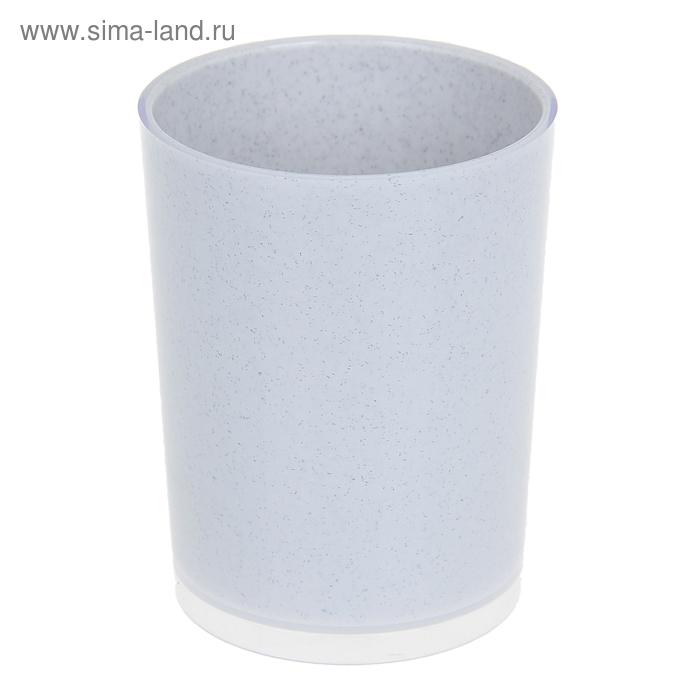 "Стакан ""Joli"", цвет белый мрамор"