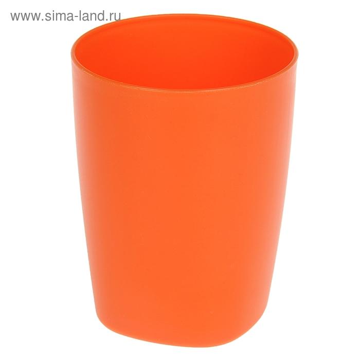 "Стакан ""Aqua"", цвет мандарин"