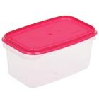 Контейнер пищевой 500 мл Venecia, цвет розовый
