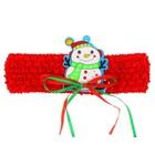 Карнавальная повязка-резинка «Снеговичок»