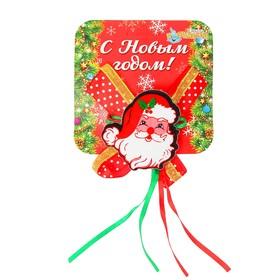 """Carnival clip """"Santa Claus with ribbons"""""""