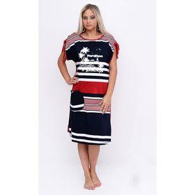 Платье женское Т-94А, цвет микс, размер 52