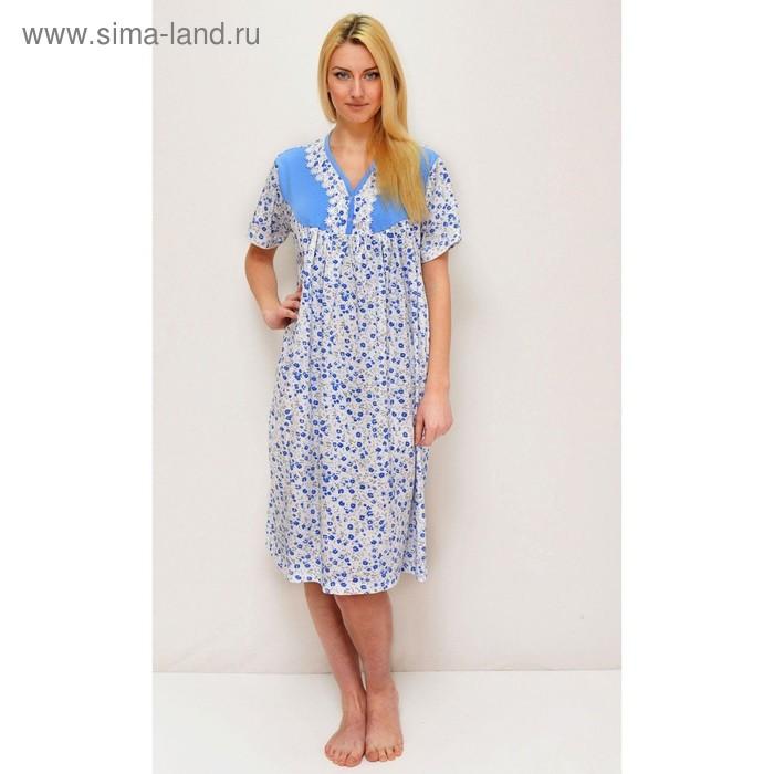 Сорочка женская 4, цвет микс, размер 58