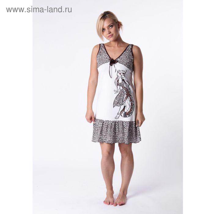 Сорочка женская 17 МИКС, р-р 46