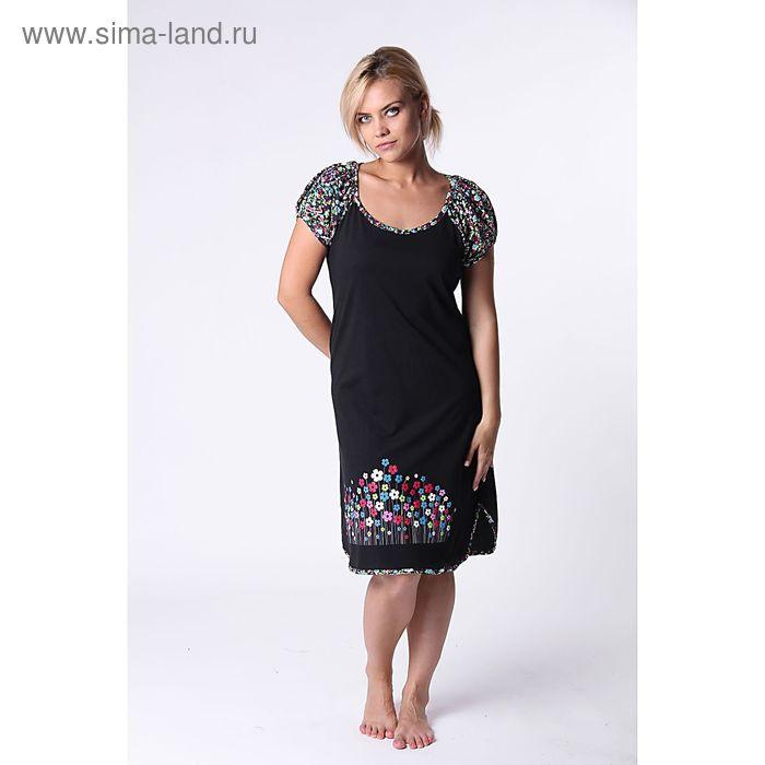 Платье женское Си-т60, цвет микс, размер 56