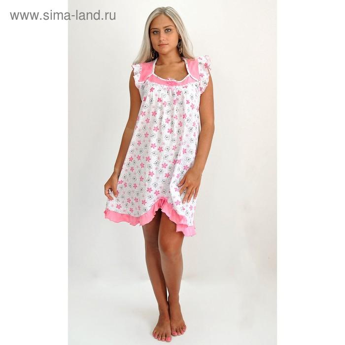 Сорочка женская 50, цвет микс, размер 52