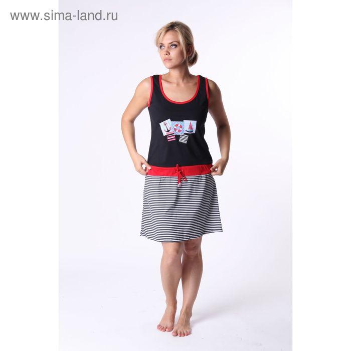 Платье женское Т-837, цвет микс, размер 48