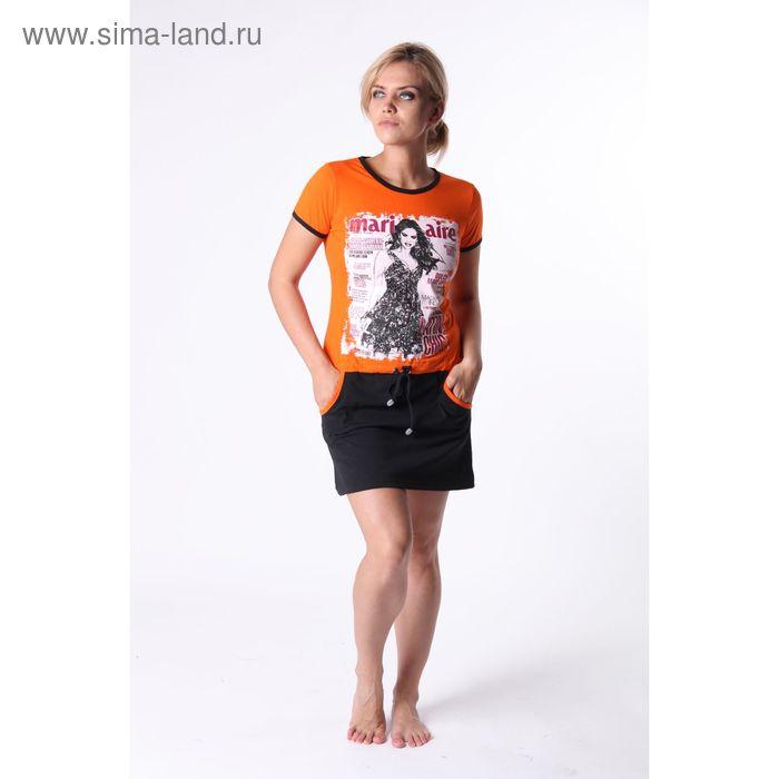 Платье женское Т-2К МИКС, р-р 44