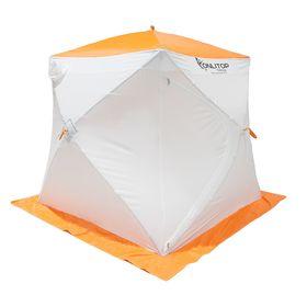 Палатка 'Призма Стандарт' 170, 2-слойная, цвет бело-оранжевый Ош