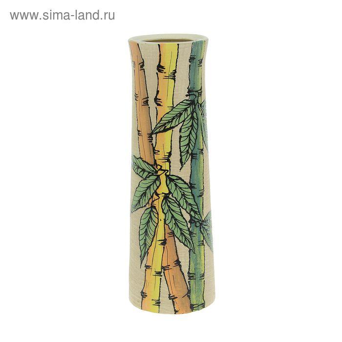 "Ваза ""Элита"" большая, бамбук, шамот"