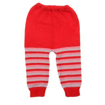 Рейтузы детские, рост 68-74 см (22), цвет красный (полоска)
