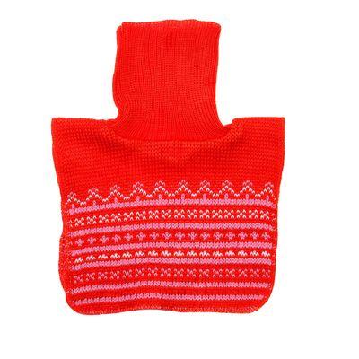 Манишка для грудничков, возраст 6-18 месяцев, цвет красный 0110