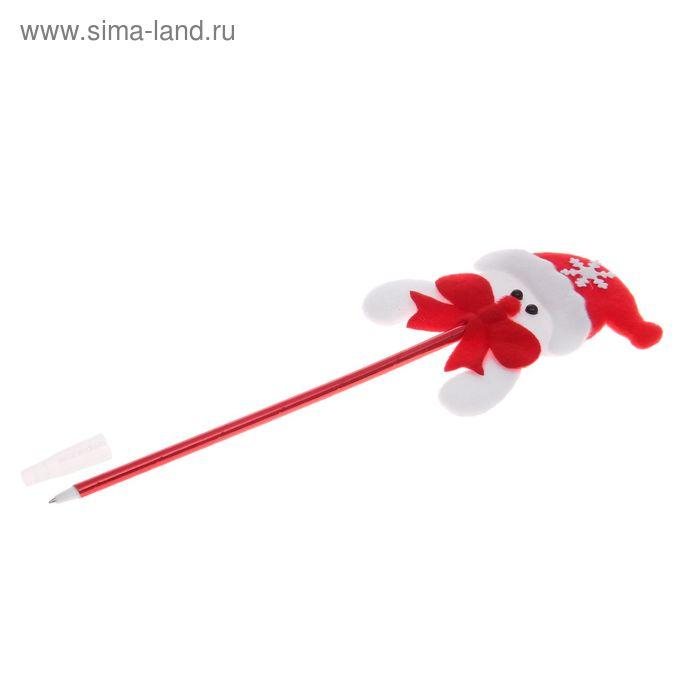 """Ручка шариковая """"Снеговик в колпаке"""""""