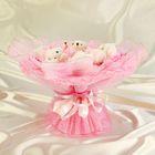 """Букет из игрушек """"Любовное письмо"""" розовый"""