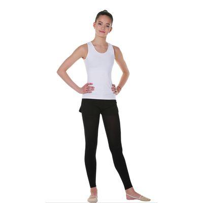 Майка гимнастическая, размер 28, цвет белый