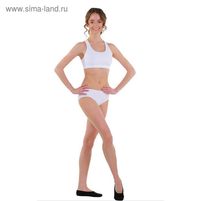Топ-лиф гимнастический, размер 44, цвет белый