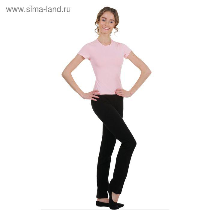Футболка гимнастическая, размер 36, цвет розовый