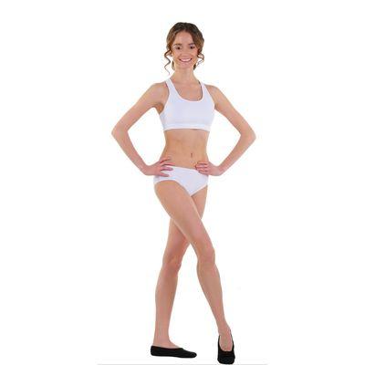 Топ-лиф гимнастический, размер 28, цвет белый