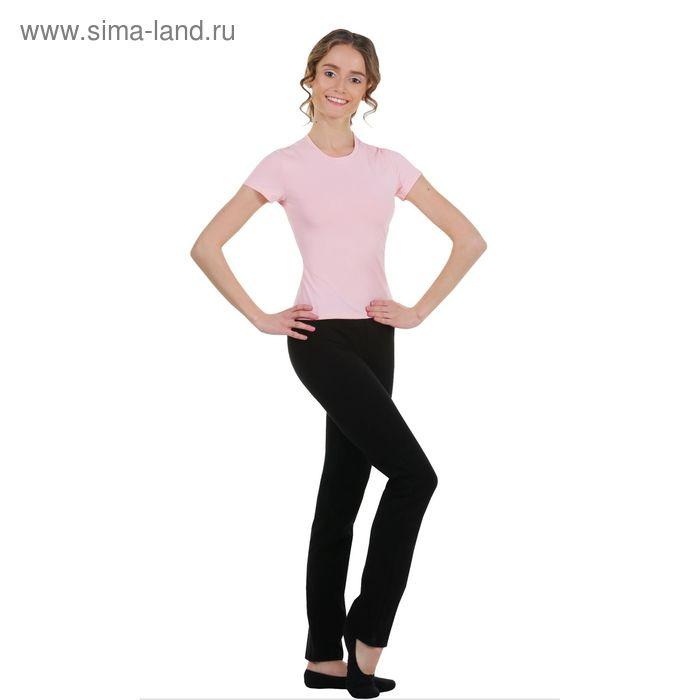 Футболка гимнастическая, размер 42, цвет розовой