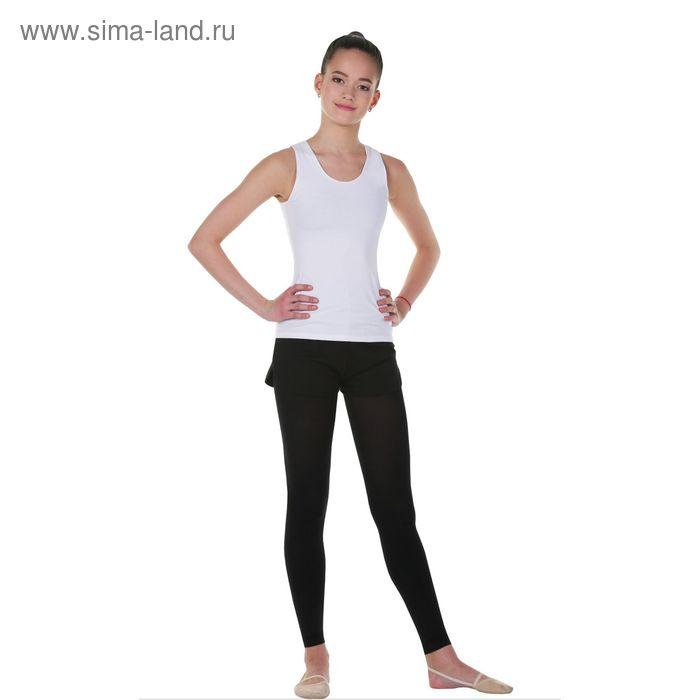 Майка гимнастическая, размер 38, цвет белый