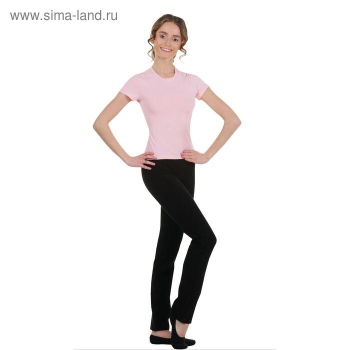 Футболка гимнастическая, размер 40, цвет розовый