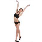 Топ-лиф гимнастический, размер 32, цвет чёрный