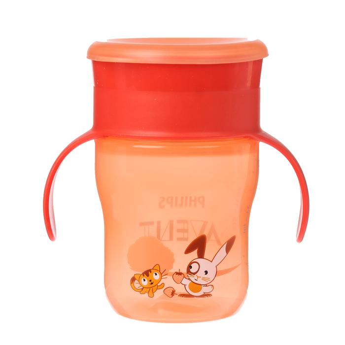 Чашка-непроливайка без носика «Взрослая», 260 мл, от 12 мес., цвета МИКС