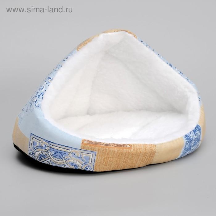 """Домик для животных """"Лукошко"""", 40х30х26 см, микс цветов"""