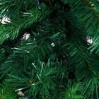Ёлка Эксклюзив фибро, цветные огоньки, 120 см 205 веток - фото 882781