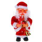 Дед Мороз, со звездой и колокольчиком, английская мелодия