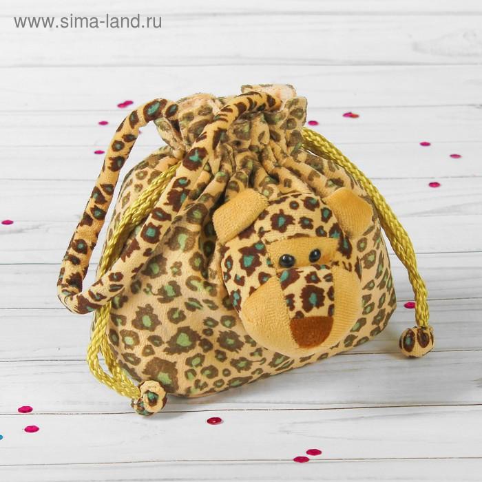 """Мягкая сумочка """"Леопард"""""""