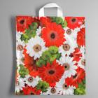 """Пакет """"Цветочный ковёр"""", полиэтиленовый с петлевой ручкой, 44 x 40 см, 37 мкм - фото 263753729"""