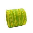 Рафия двухцветная, лимонно-салатовый, 200 м