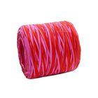 Рафия двухцветная, красно-малиновый, 200 м