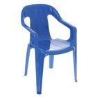 Детский стульчик, цвет синий