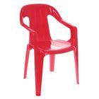 Детский стульчик, цвет красный