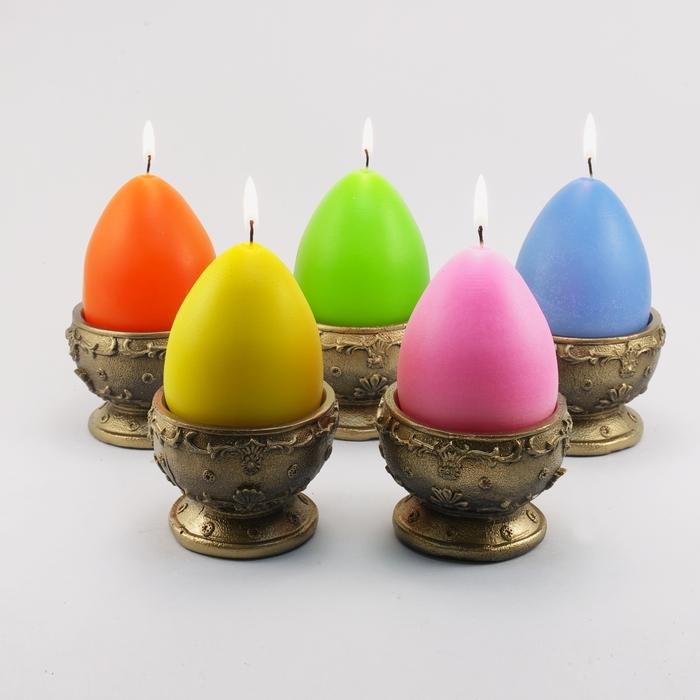 Пасхальные свечи своими руками (мастер-класс)