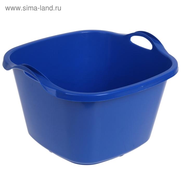 Таз 35 л, цвет синий