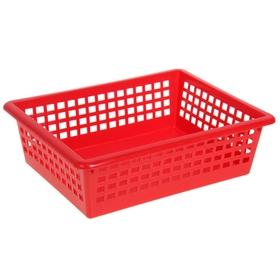 Корзина для хранения, цвет красный