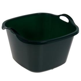 Таз 35 л, цвет зеленый