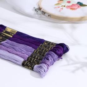 A set of thread floss