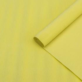 """Бумага гофрированная, 574 """"Карминно-желтая"""", 0,5 х 2,5 м"""