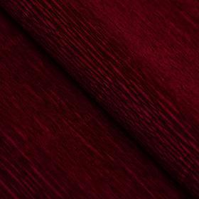 """Бумага гофрированная, 588 """"Бордовый красный"""", 0,5 х 2,5 м"""
