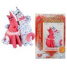 """Набор для изготовления текстильной игрушки """"Коты - неразлучники"""", 26 см"""